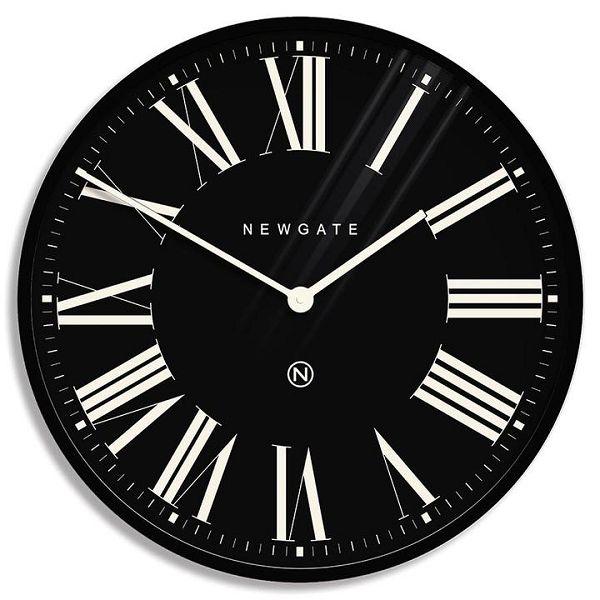 NEW GATE ニューゲート掛け時計 MUSIC HALL Extra Large Roman Numeral Wall Clock Black 60cm  NUMXMHALL84CK ニューゲート時計【送料無料】
