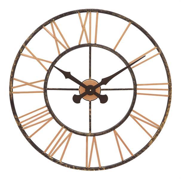 レトロデザイン!ロジャーラッセルRogerLascelles社製 Outdoor/Indoor Clock  70cm掛け時計 ODC-XL-COPPER