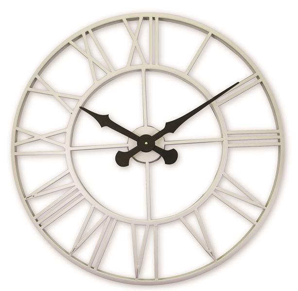 レトロデザイン!ロジャーラッセルRogerLascelles社製 OFF WHITE  Outdoor/Indoor Clock  70cm掛け時計 ODC-XL-CREAM