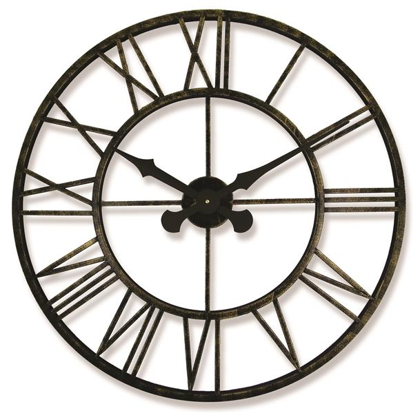 レトロデザイン!ロジャーラッセルRogerLascelles社製 Outdoor/Indoor Clock  70cm掛け時計 ODC-XL-VINTAGE