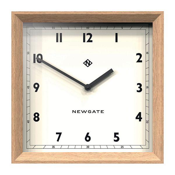天然木とシンプルな文字盤がお洒落!NEW GATE(ニューゲート) Old Joe Wall Clock - Solid Oak OJWC-SO 掛け時計