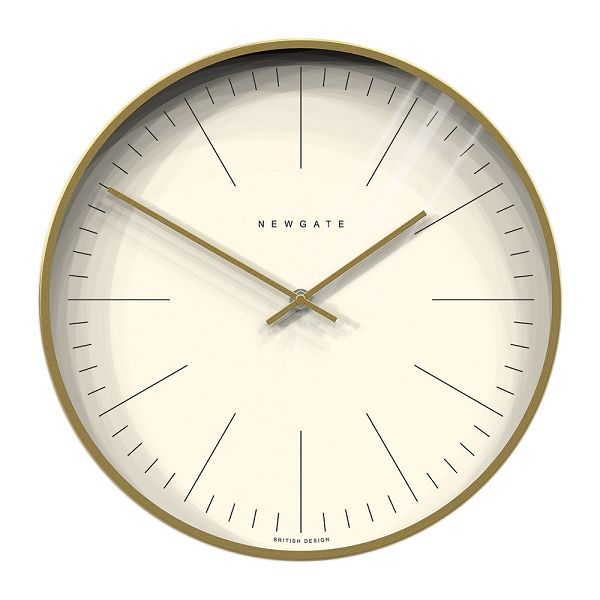 NEW GATEニューゲート掛け時計 Oslo Wall Clock  Brass  Dash Dial  OWL-RB