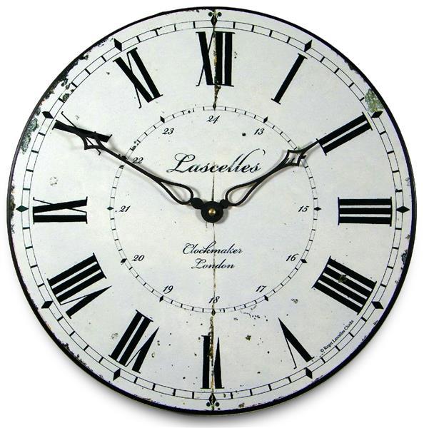 アンティーク調でお洒落!ロジャーラッセル掛け時計 RogerLascelles掛け時計 Clockmaker's Clock 壁掛け時計 PUB-CLOCKMAKER