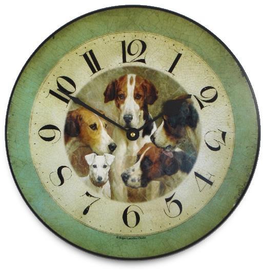 アンティーク調でお洒落!ロジャーラッセル掛け時計 RogerLascelles掛け時計 FOUR KINGS & A KNAVE, WALL CLOCK 壁掛け時計 PUB-KINGS