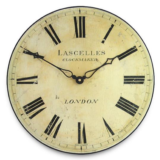 アンティーク調でお洒落!ロジャーラッセル掛け時計 RogerLascelles掛け時計 Antique Style Lascelles Wall Clock 壁掛け時計 PUB-LASC