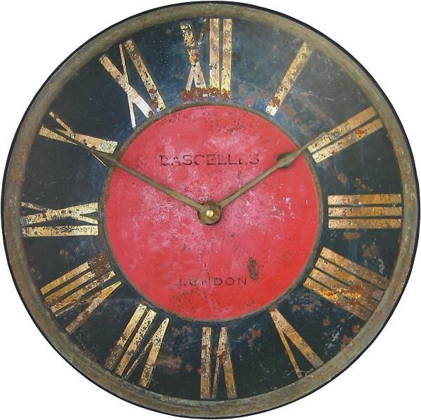 アンティーク調でお洒落!ロジャーラッセルRogerLascelles社製 掛け時計 PUB-TURRET