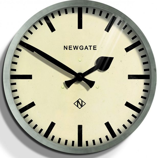 レトロなunderground station clock NEW GATEニューゲート掛け時計 Putney Wall Clock  PUT551WM