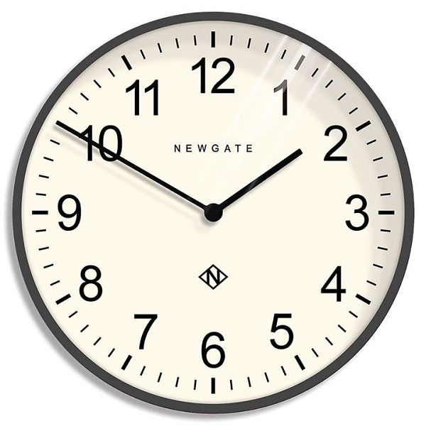 NEW GATE ニューゲート掛け時計  Professor Wall Clock  Grey/White φ600 PWC-BGY ニューゲート時計 【送料無料】
