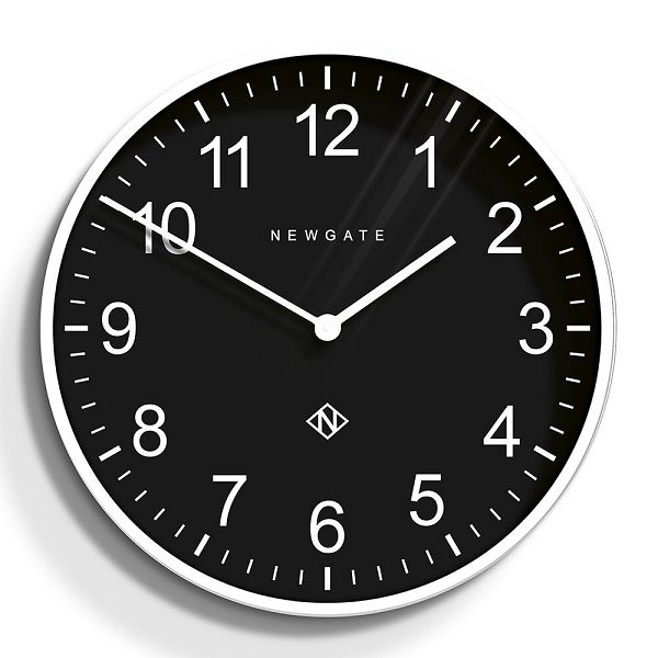 NEW GATE ニューゲート掛け時計  Professor Wall Clock - Pebble White/Black φ600 PWC-PWB ニューゲート時計 【送料無料】