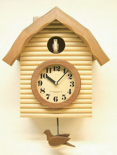鳩時計 さんてる 日本製 振り子はと時計 QL650NA  国産 手作り
