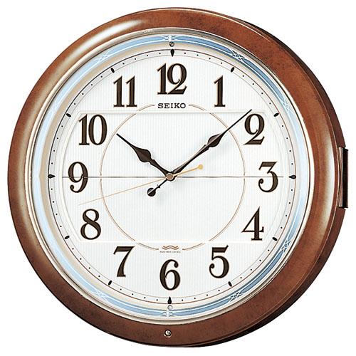 文字盤が上下に開いて人形が登場です!からくり時計ウエーブシンフォニー RE559H セイコー SEIKO電波時計