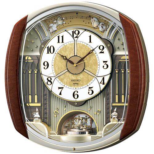 文字盤がダイナミックに動きます!からくり時計ウエーブシンフォニー RE564H セイコー SEIKO電波時計