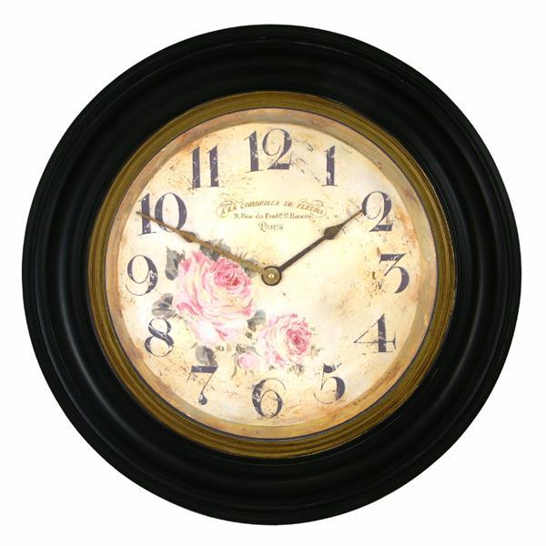 アンティーク調でお洒落!ロジャーラッセルRogerLascelles社製  掛け時計 RWB-FLORIST