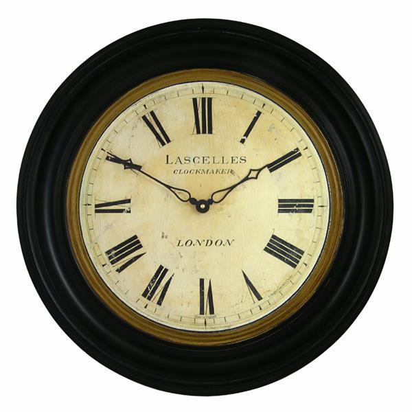 ロジャーラッセルRogerLascelles社製TRADITIONALLY FRAMED LASCELLES DIAL CLOCK - 50cm 大型掛け時計 RWB-LASC