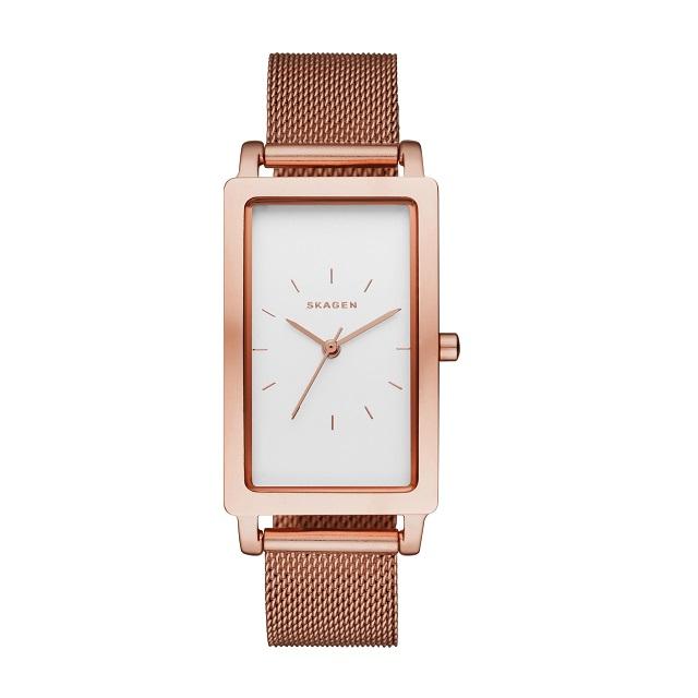 SKAGEN腕時計 スカーゲンリストウォッチ  レディース HAGEN RECTANGULAR SKW2466 【日本正規代理店品】