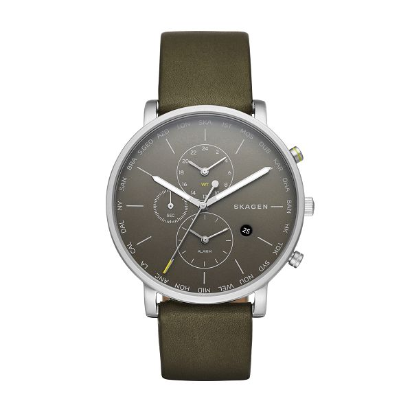 SKAGEN腕時計 スカーゲンリストウォッチ メンズHAGEN WORLD TIME SKW6298  【日本正規代理店品】