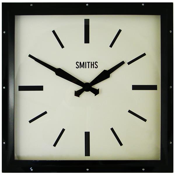 レトロデザイン!ロジャーラッセルRogerLascelles社製 Smiths Retro Clock 41cm掛け時計 SM-MODERN-BLACK