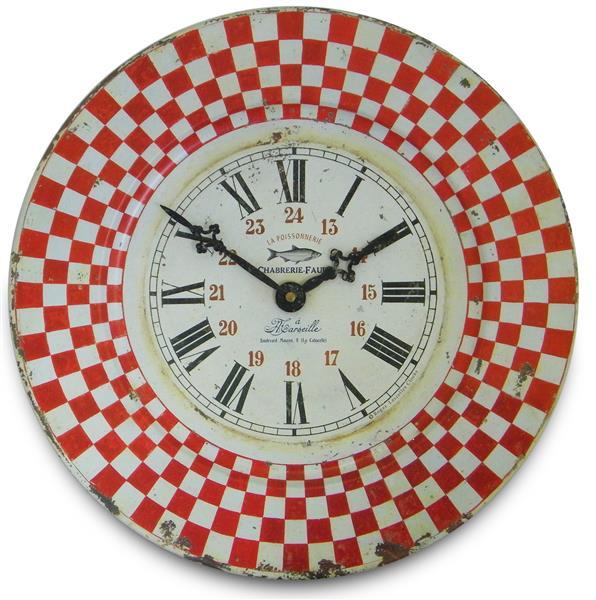 アンティーク調でお洒落!ロジャーラッセル掛け時計 RogerLascelles掛け時計 French Tin Marseille Wall Clock 壁掛け時計 TIN-MARSEILLE