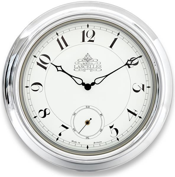 ロジャーラッセル RogerLascelles 掛け時計 Chrome Station Clock 45cm TS-LASC-CHROME