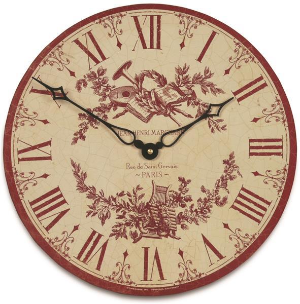 ロジャーラッセル RogerLascelles 掛け時計 Toile Design Wall Clock  36cm TW-TOILE