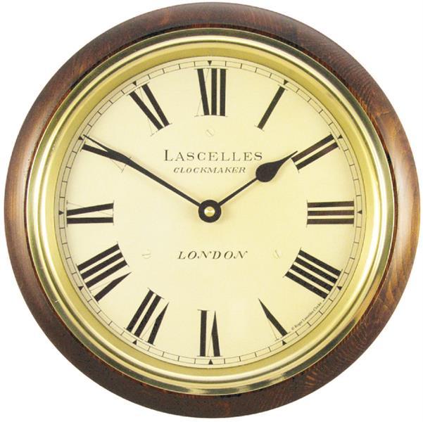 ロジャーラッセル RogerLascelles 掛け時計 CLASSIC WOODEN WALL CLOCK 26.7cm WR-LASC-MAH