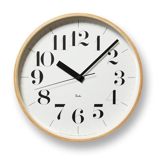 Lemnos レムノス 電波掛け時計 Riki CLOCK RC WR08-27 φ305mm