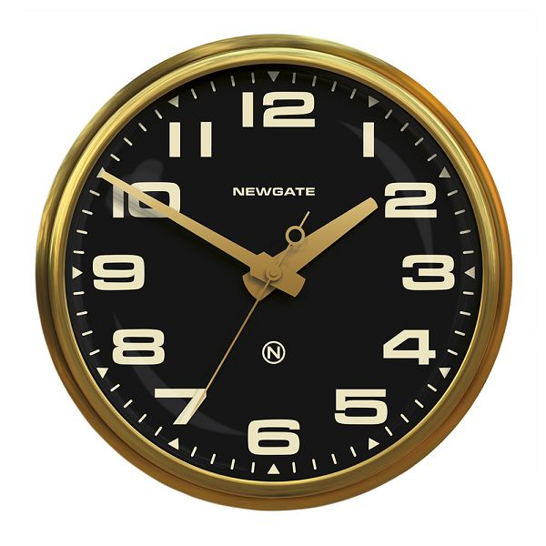 NEW GATEニューゲート掛け時計 Brixton Wall Clock Brass BRIXTON-BB