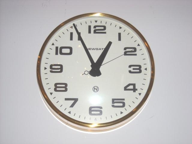 NEW GATEニューゲート掛け時計 Brixton Wall Clock Brass BRIXTON-BW