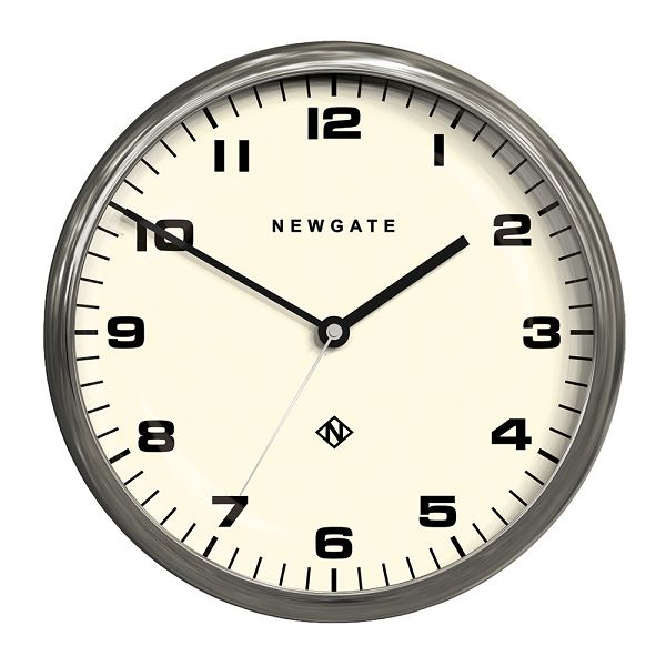 NEW GATEニューゲート掛け時計 Chrysler Wall Clock Burnished Steel CWC-BS