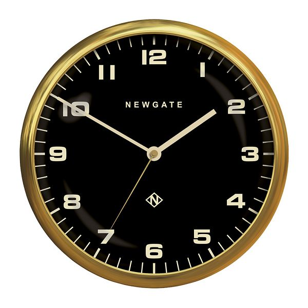 NEW GATEニューゲート掛け時計 Chrysler Wall Clock Radial Brass Black CWC-RBBK