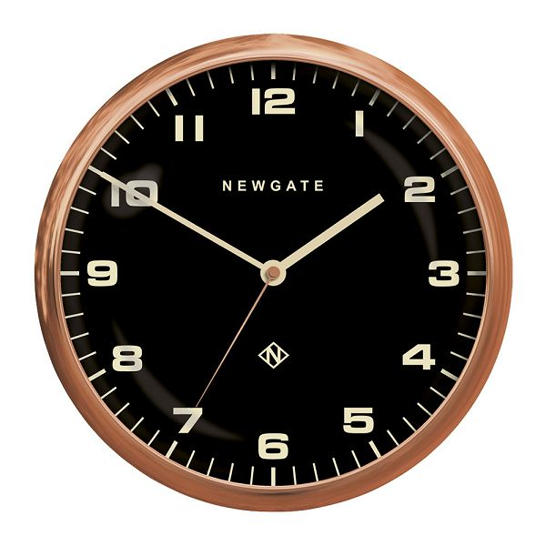 NEW GATEニューゲート掛け時計 Chrysler Wall Clock Radial Copper  Black CWC-RCBK