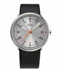 noon copenhagen腕時計 111-001 ヌーンコペンハーゲン  シルバー×ブラック Mens Flyinglog 10106