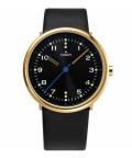 noon copenhagen腕時計 111-002 ヌーンコペンハーゲン  ゴールド×ブラック Mens Flyinglog 10107
