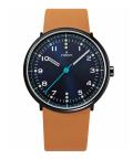 noon copenhagen腕時計 111-003 ヌーンコペンハーゲン  ブラック×ブラウン Mens Flyinglog 10108