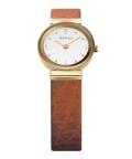 BERING腕時計 ベーリングリストウォッチ レディース Classic Calf Leather 10122-534
