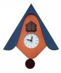カッコーが鳴いて時刻を知らせます!鳩時計 カッコークロック イタリア・ピロンディーニCucuW105BL
