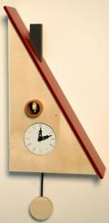 カッコーが鳴いて時刻を知らせます!鳩時計 カッコークロック イタリア・ピロンディーニTrillo108acero