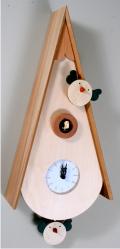 カッコーが鳴いて時刻を知らせます!鳩時計 カッコークロック イタリア・ピロンディーニUccellini113