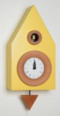 カッコーが鳴いて時刻を知らせます!鳩時計 カッコークロック イタリア・ピロンディーニDark114gial