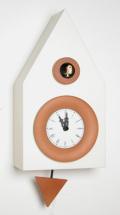 カッコーが鳴いて時刻を知らせます!鳩時計 カッコークロック イタリア・ピロンディーニDark114panna