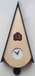 カッコーが鳴いて時刻を知らせます!鳩時計 カッコークロック イタリア・ピロンディーニClassicoNat115blu