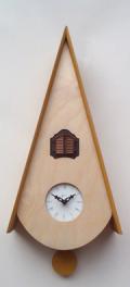 カッコーが鳴いて時刻を知らせます! 鳩時計カッコークロック イタリア・ピロンディーニClassicoNat115g  訳あり特価品