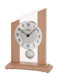 スタイリッシュで見やすい!AMS振り子置き時計 1171 AMS置き時計
