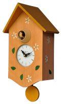 鳩時計 カッコーが鳴いて時刻を知らせます!Pirondini 振り子鳩時計 カッコークロック イタリア・ピロンディーニ St.Moritz126