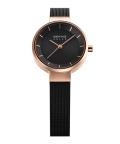 腕時計 ベーリングリストウォッチ レディース BERING Ladies Scandinavian Solar 14627-166