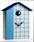 カッコーが鳴いて時刻を知らせます!鳩時計 カッコークロック 置き掛け兼用クロック イタリア・ピロンディーニScozzese147