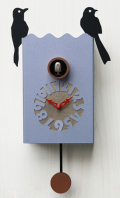 鳩時計 カッコーが鳴いて時刻を知らせます!Pirondini  カッコークロック イタリア・ピロンディーニDuetto156