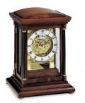 スケルトンムーブメントの機械式が魅力!AMS報時置き時計 2187-1  アームス置時計