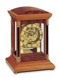 スケルトンムーブメントの機械式が魅力!AMS報時置き時計 2187-9  アームス置時計