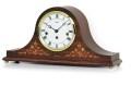 機械式が魅力!AMS報時置き時計 2188-1 アームス置時計 木象嵌